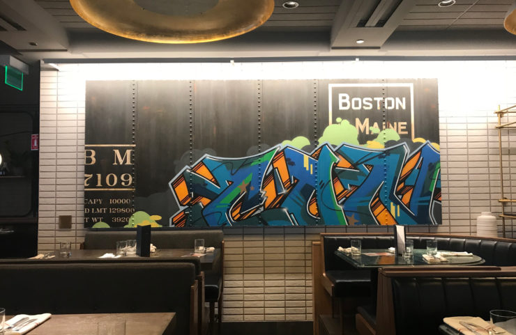 Earls Kitchen Bar Prudential Center Ak Art Consulting